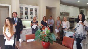 McMonigle Team Visits 7 Sunrise, Newport Coast